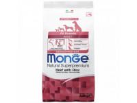 Monge Dog Monoprotein All Breeds, корм д/собак всех пород (говядина)