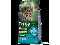 Monge, BWild Grain Free Adult, Sterilised корм д/кошек, беззерновой (тунец)