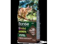 Monge, BWild Grain Free Adult для крупных пород кошек (буйвол)