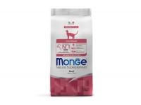 Monge Monoprotein, Sterilised Adult, корм д/кошек (говядина)
