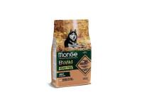 Monge, Bwild Grain Free, беззерновой корм для собак всех пород (лосось)