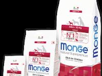 Monge, DL, Mini, корм д/собак мини пород (курица)
