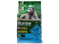 Monge, Bwild Grain Free, беззерновой корм для собак всех пород (анчоус)