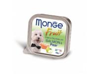 Monge, Fruit, влажный корм д/собак (лосось/груша)