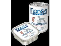 Monge, Monoproteico, влажный корм д/собак (ягненок)