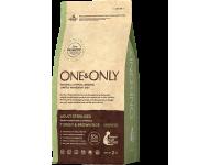 One&Only, Sterilised, корм д/кошек (индейка/рис)