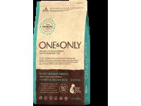 One&Only, Medium, корм д/собак средних пород (индейка/рис)