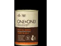 One&Only, Adult, влажный корм д/собак (индейка в желе)