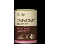 One&Only, Adult, влажный корм д/собак (кролик в желе)