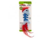 Petstages, Fish Bone голубая, игрушка для кошки