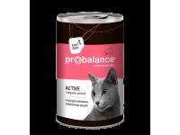 """Probalance  """"Active""""  влажный корм для кошек"""