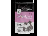 ProBalance, Kitten 1`st Diet, влажный корм д/котят (телятина)