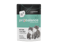ProBalance, Kitten 1`st Diet, влажный корм д/котят (кролик)