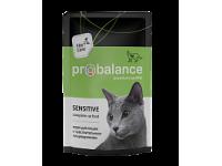 ProBalance, Adult Sensitive, влажный корм д/кошек (курица/рыба)