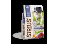 Sirius, корм д/собак средних пород (индейка/утка/овощи)