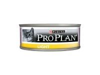 Pro Plan, Light, влажный корм д/кошек мусс (индейка)