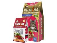 Puffins, корм д/кошек (мясное жаркое)