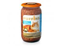 Puffins, влажный корм д/кошек (лосось/судак/тунец в паштете)