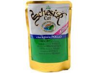 Schesir, влажный корм д/котят (курица в желе)
