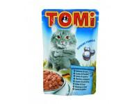 TOMi, влажный корм д/кошек (лосос в соусе)