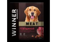 Winner, Adult Meat, корм д/собак средних и круп. пород (говядина)