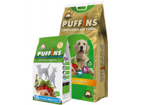 Puffins, корм д/собак всех пород (мясное ассорти)