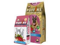 Puffins, корм д/собак всех пород (ягненок и рис)
