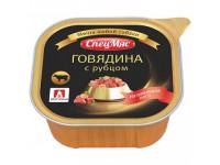 Зоогурман, Спецмяс говядина с рубцом, д/собак 300 гр.