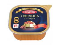 Зоогурман, Спецмяс говядина с птицей, д/собак 300 гр.