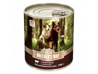Zoogurman, Breeder's Way, влажный корм  д/собак (телятина с ягненком)