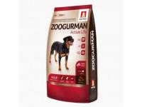 Zoogurman, Active Life, корм д/собак сред.и крупных пород (индейка)
