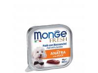 Monge, Dog Fresh, влажный корм д/собак (утка)