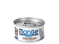 Monge, Monoprotein, влажный корм д/кошек (мясо буйвола)
