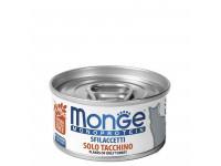 Monge, Monoprotein, влажный корм д/кошек (индейка)