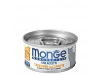 Monge, Monoprotein, влажный корм д/кошек (индейка/морковь)