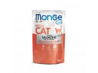 Monge, Cat Grill Pouch, влажный корм д/котят (лосось)