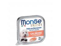 Monge, Dog Fresh, влажный корм д/собак (лосось)