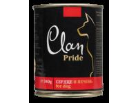 Clan,Pride, влажный корм д/собак (сердце/печень говядины)