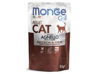 Monge, Cat Grill Pouch, влажный корм д/кошек (ягнёнок)