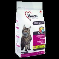 1St Choice Sterilized, корм д/кошек (курица)