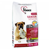 1St Choice Senior, корм д/пожилых собак всех пород (ягненок)