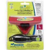 FURminator, FURflex Комбо против линьки L, для собак крупных пород