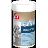 8 in 1, Excel, Brewers Yeast, пивные дрожжи д/собак и кошек (1430 таб.)