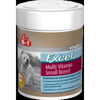 8 in 1, Excel, Multi Vitamin Small Breed, мультивитамины д/собак мелких пород (70 таб.)