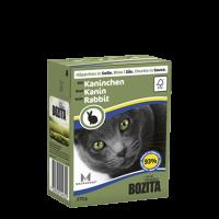 Bozita, влажный корм д/кошек (кусочки в соусе с кроликом)