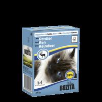 Bozita, влажный корм д/кошек (кусочки в соусе с мясом оленя)