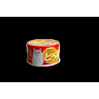 CIAO, влажный корм д/кошек (кальмар с вырезкой тунца)