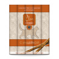 Clan Classic д/кошек мясные палочки с индейкой для стерил./кастрир. (5шт*5г)