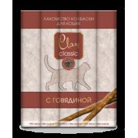 Clan Classic д/кошек мясные палочки с говядиной (5шт*5г)