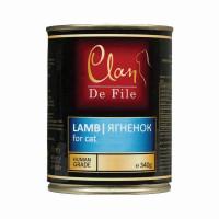 Clan,De File, влажный корм д/кошек (ягненок)